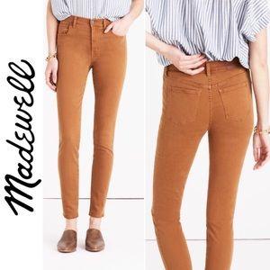 "Madewell 9"" High Riser Skinny Jeans"